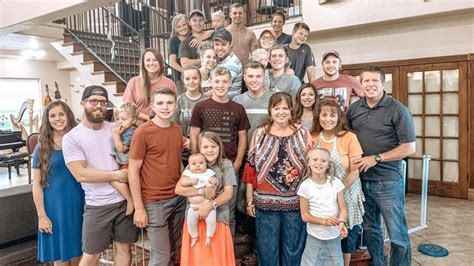 Members of the Duggar family who don't get along