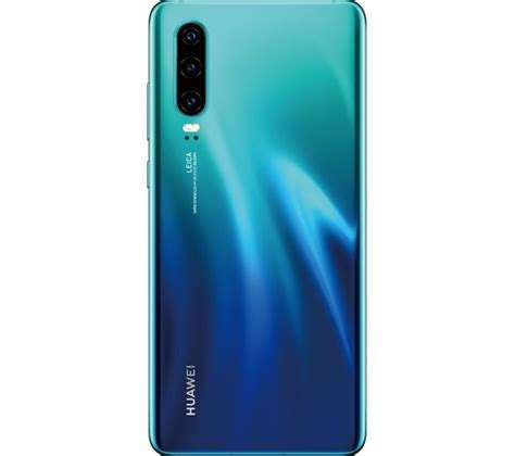 HUAWEI P30 SIM Free - 128 GB, Blue Fast Delivery | Currysie