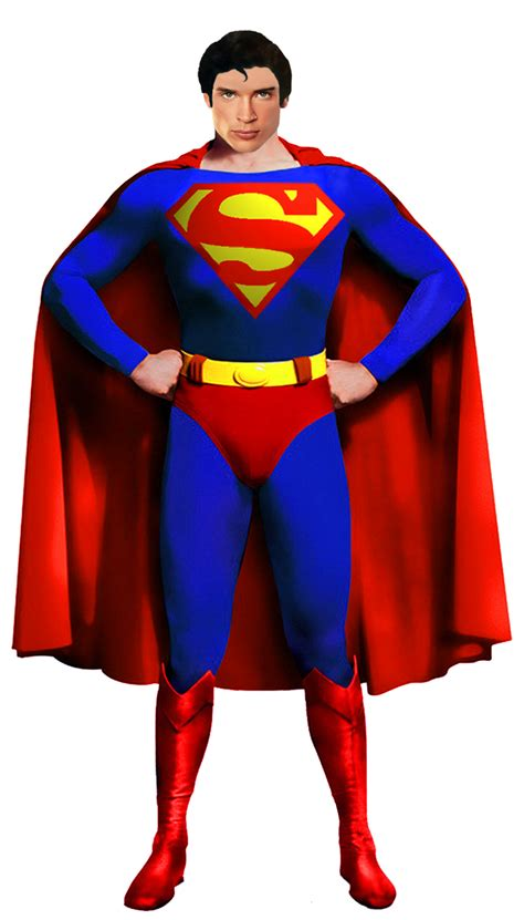 Tom Welling as Superman Imagery