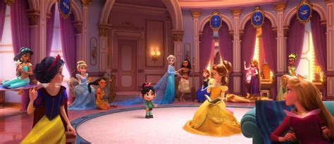 Penelope Meets The Disney Princesses In New 'Wreck-it