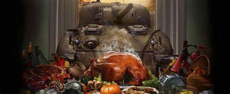Tanksgiving Weekend   Game Events   World of Tanks