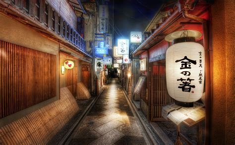 Japanese, Cityscape, Architecture, Building, Anime, HDR
