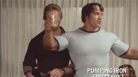 WATCH: Funny Arnold Outtakes - Pumping Iron – Fitness Volt