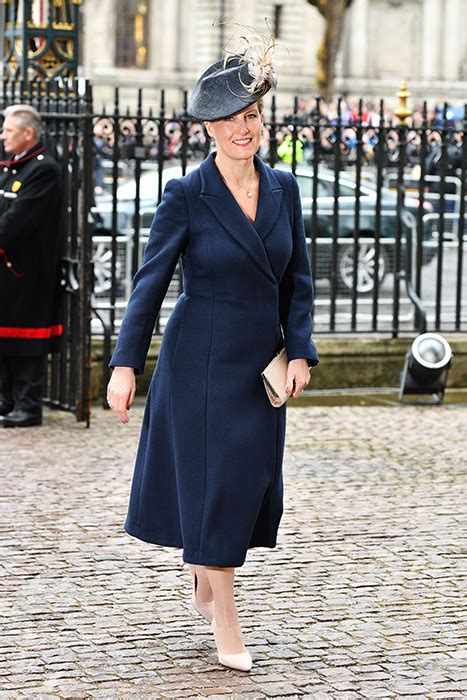 Sophie, The Countess of Wessex wore a blue Stella