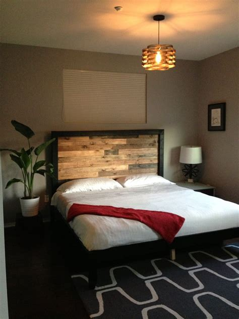 Master bedroom for single male client