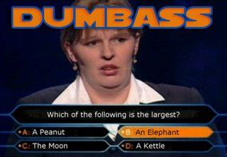 Dodgy At Best: Definition Of A Dumbass