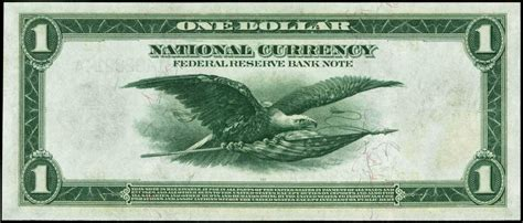 United States One Dollar Federal Reserve Bank Note 1918
