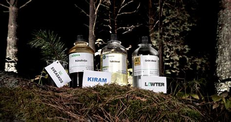 SunPine, from crude tall oil to green diesel, printing ink