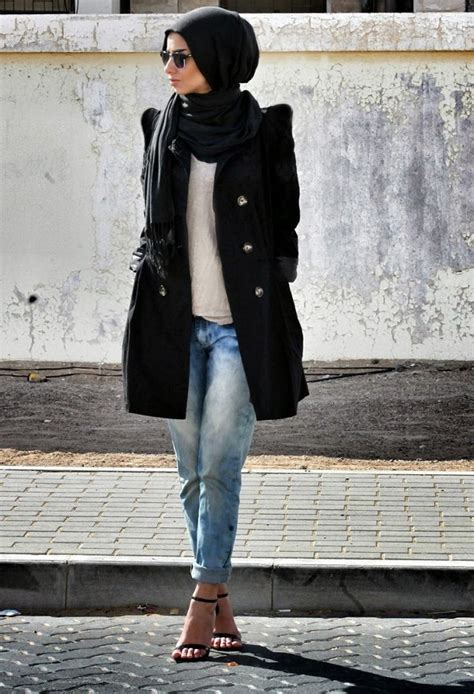 Latest Casual Hijab Styles with Jeans 2017-2018 Trends & Looks