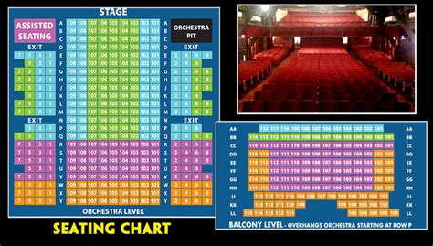 SEATING CHART & PRICING - Theatre By The Sea