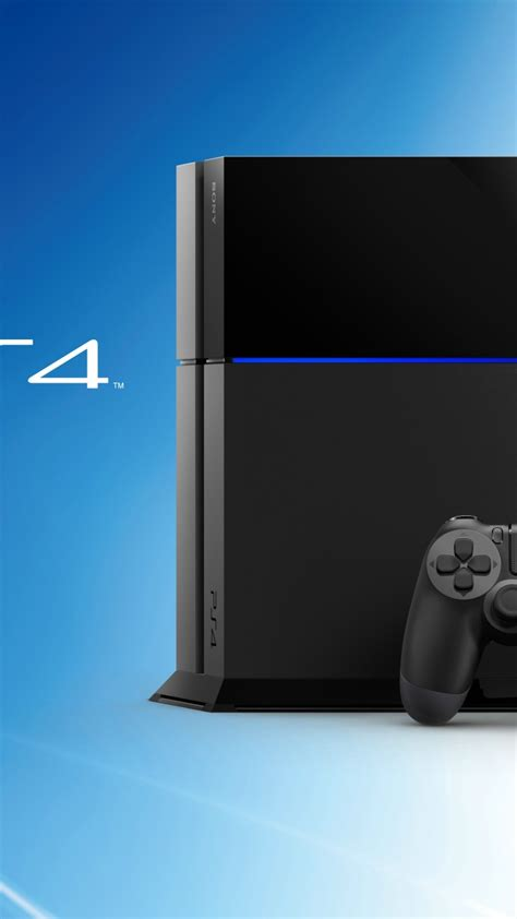 Wallpaper Sony PS4, PlayStation 4, Video game console, HD