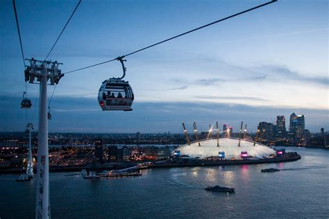 Emirates Air Line cable car opening hours extended to