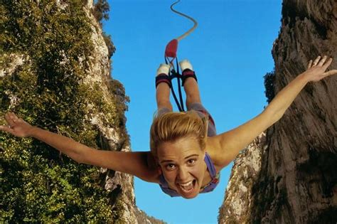 Feel the fear and read it anyway | Bungee jumping, Fear of