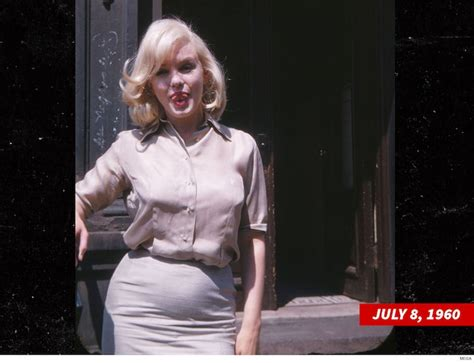 Marilyn Monroe's Rumored Pregnancy Photos From Alleged