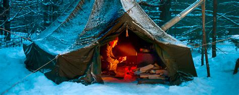 Winter Camping in Algonquin Park - Shelters - Algonquin