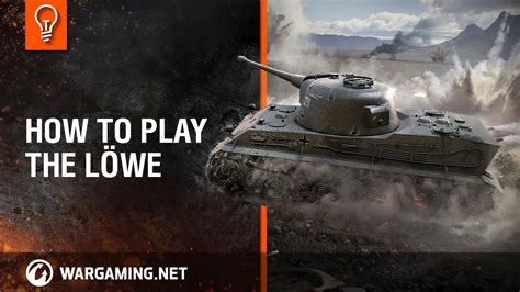 Löwe - How to play the tank? [World of Tanks] - YouTube