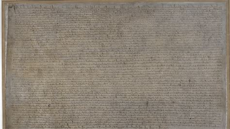 Magna Carta, 'This Awful Thing' That Shaped Legal Rights