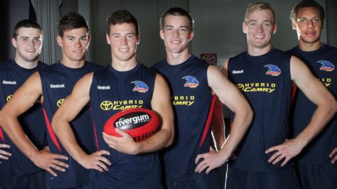 Who the Crows and Power picked in the 2011 AFL Draft