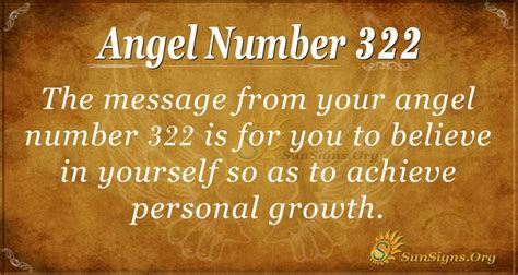 Angel Number 322 Meaning | SunSigns