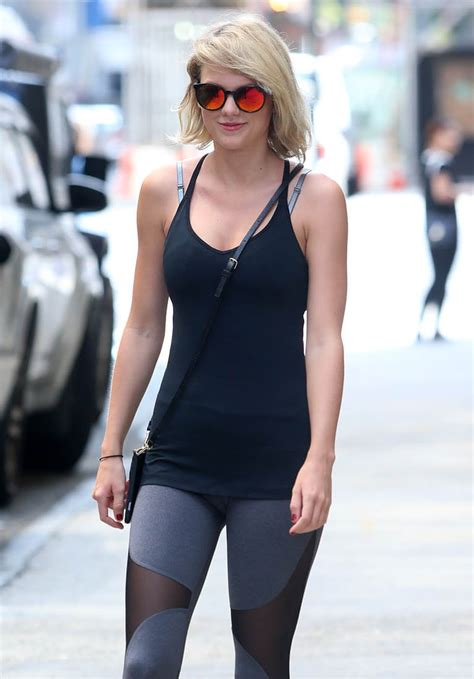 Taylor Swift at the gym in New York as it's reported she