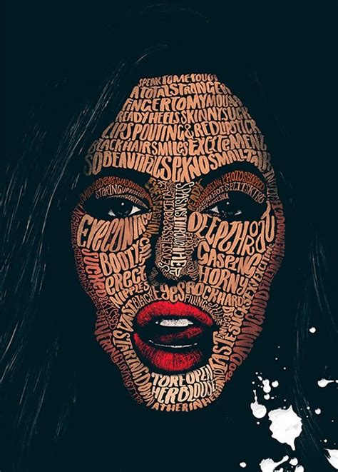 Posters With Brilliant Typographic Illustrations Made With