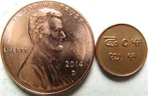 Post your smallest and largest coin together - Coin