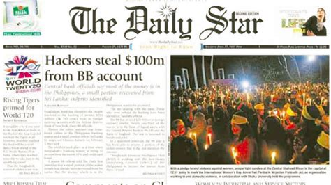 Hackers steal $100M from Bangladesh bank | Inquirer Business